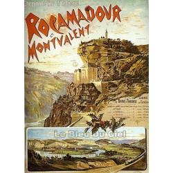 Pour votre décoration intérieure, Affiche publicitaire dim : 50x70cm : Rocamadour