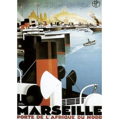 Pour votre décoration intérieure, Affiche publicitaire dim : 50x70cm : Marseille
