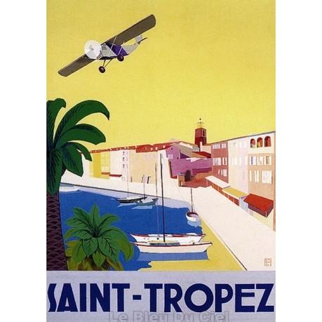 Pour votre décoration intérieure, Affiche publicitaire dim : 50x70cm : Saint Tropez