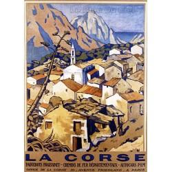 Pour votre décoration intérieure, Affiche publicitaire dim : 50x70cm la Corse