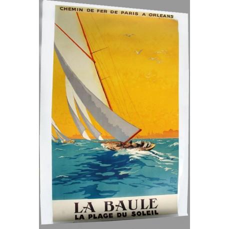 Affiche publicitaire 100x70cm : LA BAULE