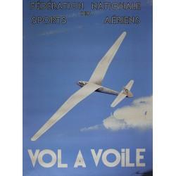 Affiche publicitaire dim 100X70CM Vol à voile