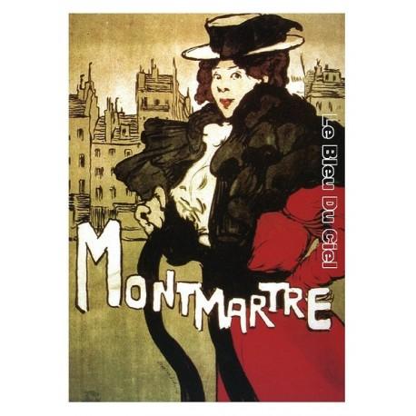 Pour votre décoration intérieure, Affiche publicitaire dim : 50x70cm  : Montmartre