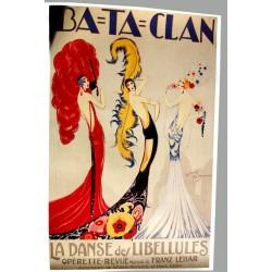 Affiche publicitaire 100x70cm : le BATACLAN
