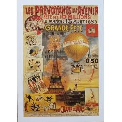 Pour votre décoration intérieure, Affiche publicitaire dim : 50x70cm Les Prévoyants de l'avenir