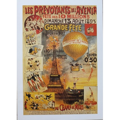 Pour votre décoration intérieure, Affiche publicitaire dim : 50x70cm  : Les Prévoyants de l'avenir
