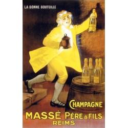 Affiche publicitaire à partir d'un calendrier dim : 18x28c
