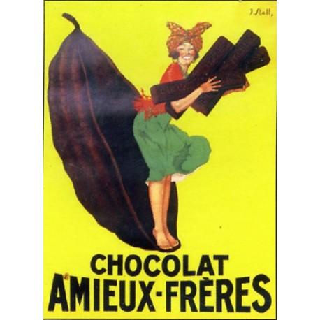Affiche publicitaire à partir d'un calendrier dim : 21x28 c