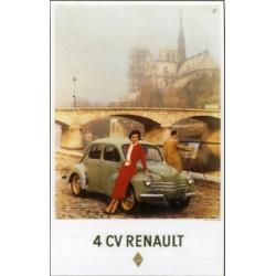 Affiche publicitaire à partir d'un calendrier dim : 18x27cm
