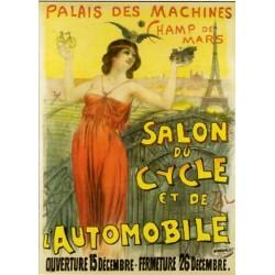 Affiche publicitaire à partir d'un calendrier dim : 20x28c