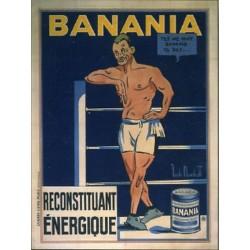 Affiche publicitaire à partir d'un calendrier dim : 21x28c