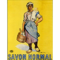 Affiche publicitaire à partir d'un calendrier dim : 21x28cm