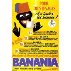 Affiche publicitaire à partir d'un calendrier dim : 19x28c
