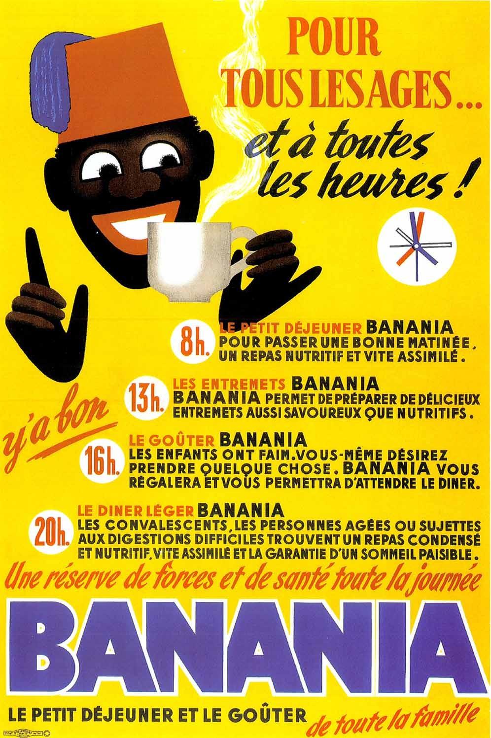 Affiche Ancienne Pour Salle De Bain affiche publicitaire à partir d'un calendrier dim : 19x28cm