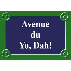 Plaque de rue émaillée Paris 13 x 9 cm sans fronton.
