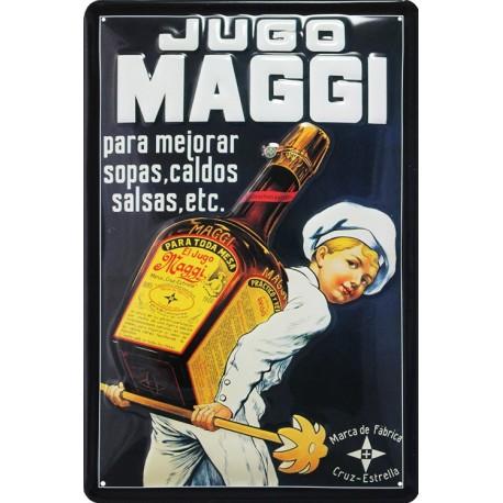plaque publicitaire Jugo MAGGI