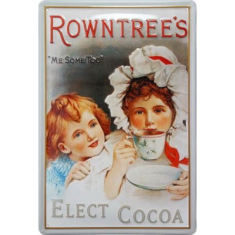 plaque publicitaire  ROWNTREE'S