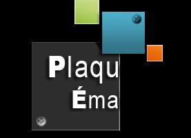 Plaque émaillée - Lexas